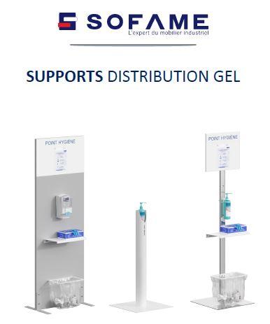 Visuel Couverture Supports distribution gel